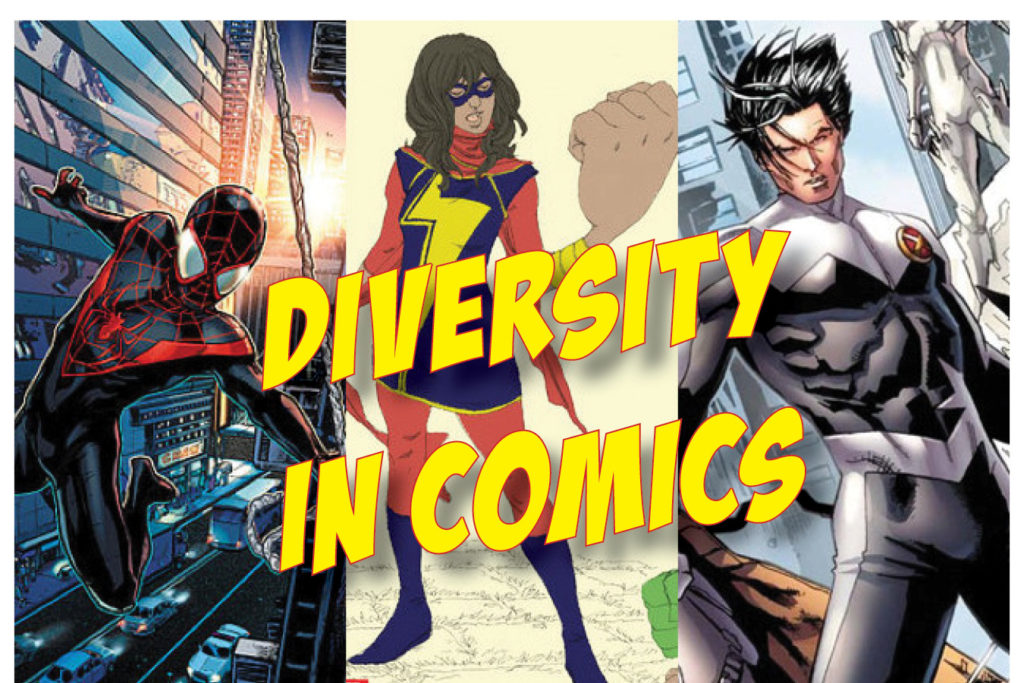 12PM: DIVERSITY IN COMICS