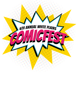 White Plains ComicFest – May 12th, 2018 – White Plains, NY Logo