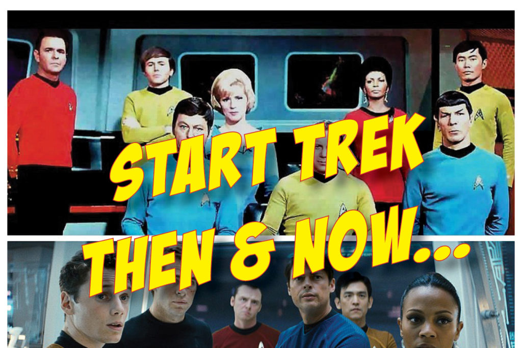 1PM STAR TREK - THEN & NOW...