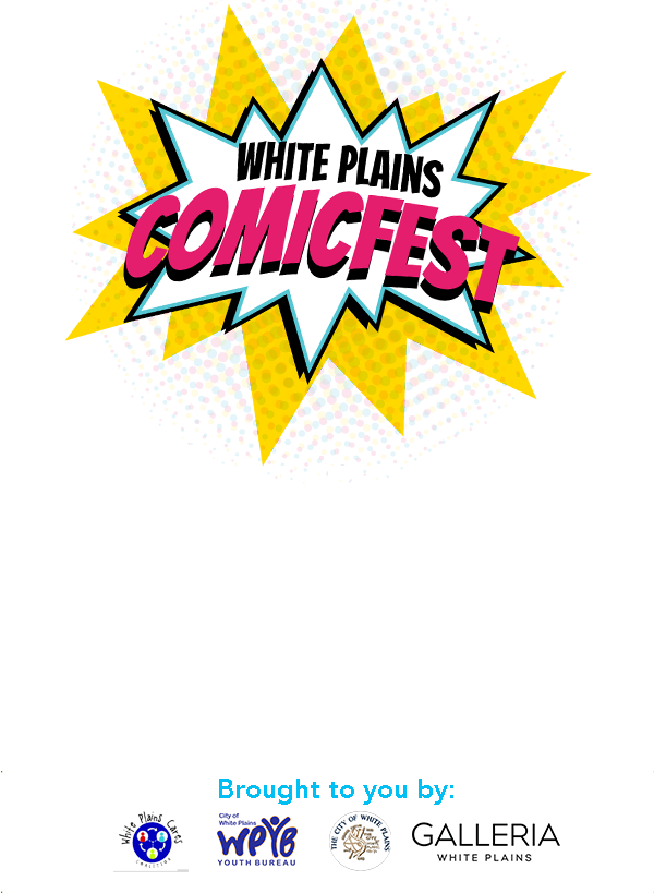 White Plains ComicFest – Saturday May 9th, 2020 – White Plains, NY Logo